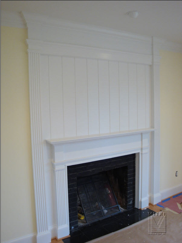 Mantel & Surround with Fluted Pilasters (2 of 2)