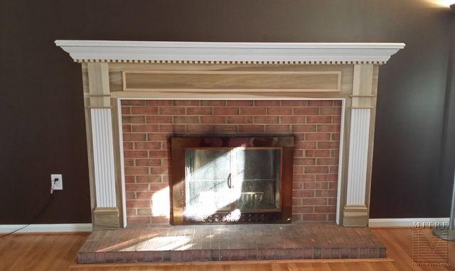 Oversize Fireplace Mantel