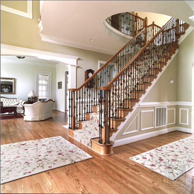 Staircase with forged balusters (2 of 2)