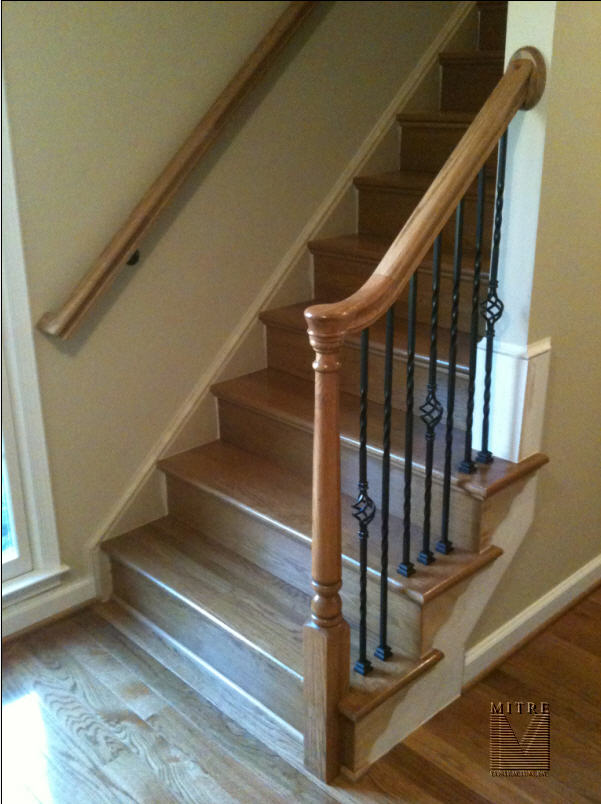 Small Remodeled Stairway