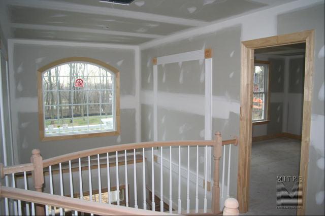 Wall Panels in Upper Foyer