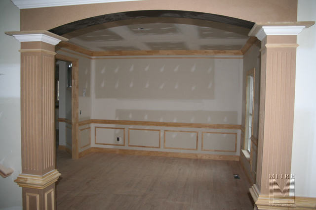 Foyer into Dining Room view