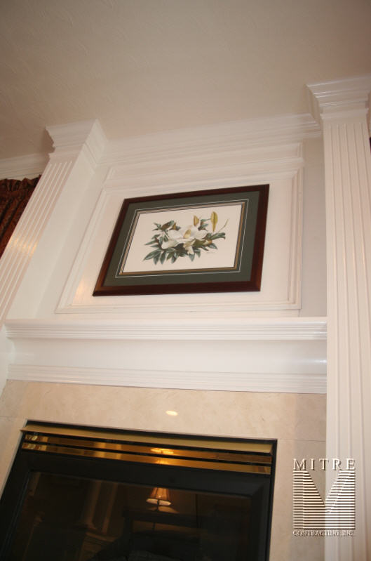 Fireplace Trimwork - View 4