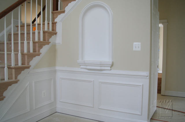 Foyer Trim Work