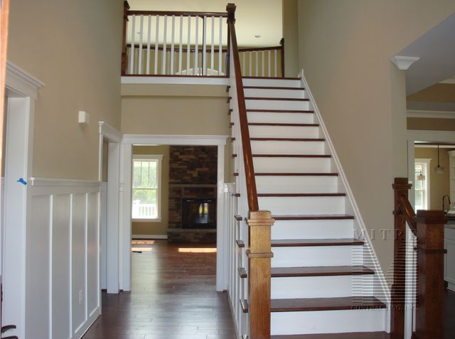 Foyer Finish Carpentry