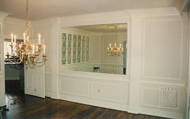 TRIMWORK: GH - Dining Room