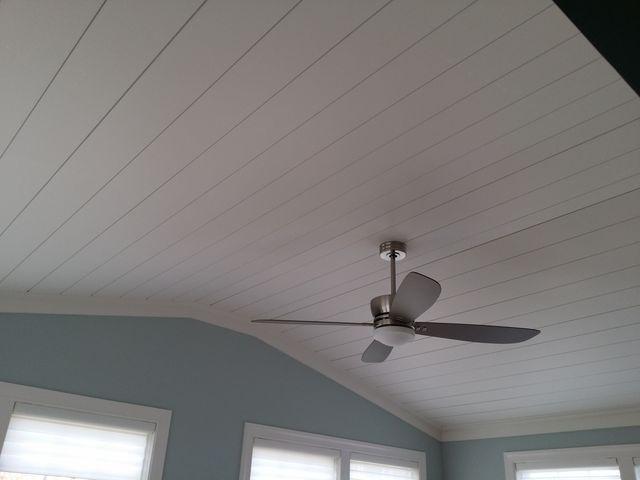 Sunroom Ceiling Treatment