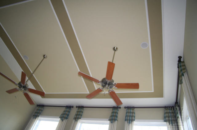 Ceiling Trim in 2 story family room