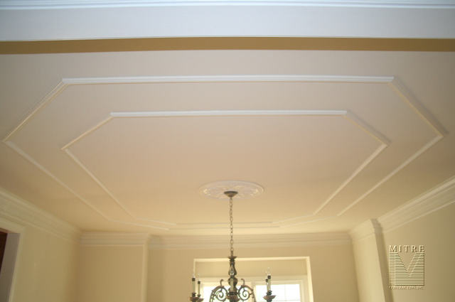 Ceiling Treatments Dining Room Treatment