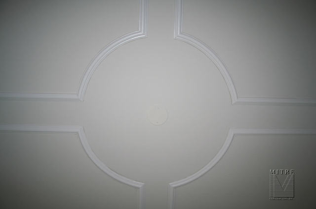 Family Room Ceiling Panels - Close-Up