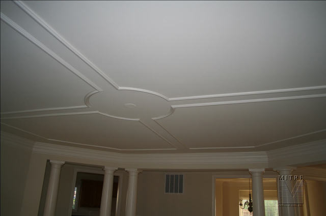 Family Room Ceiling Panels