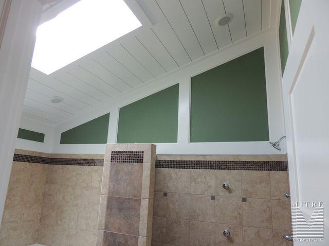 Master Bath - Wall & Ceiling Treatment