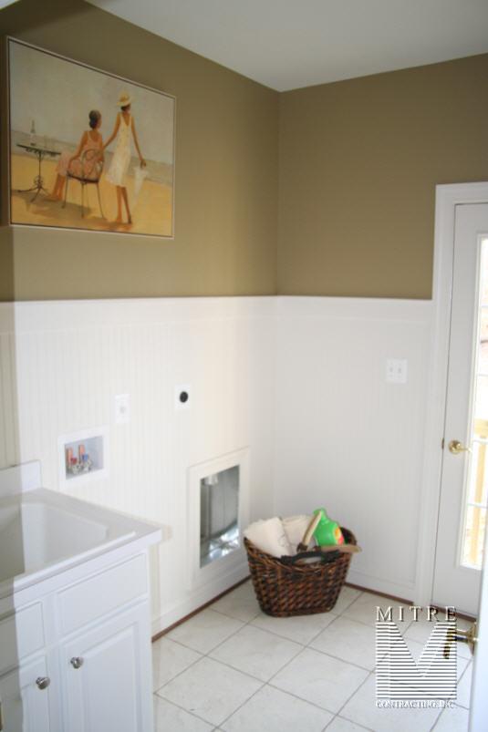 Beadboard in Laundry room 60  High & WAINSCOTING u0026 CHAIR RAIL: Beadboard in Laundry room 60