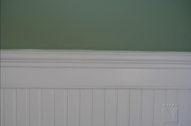 Beadboard Wainscot - close-up view