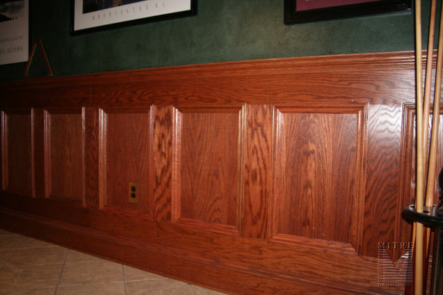 Wainscoting Amp Chair Rail Oak Wainscot
