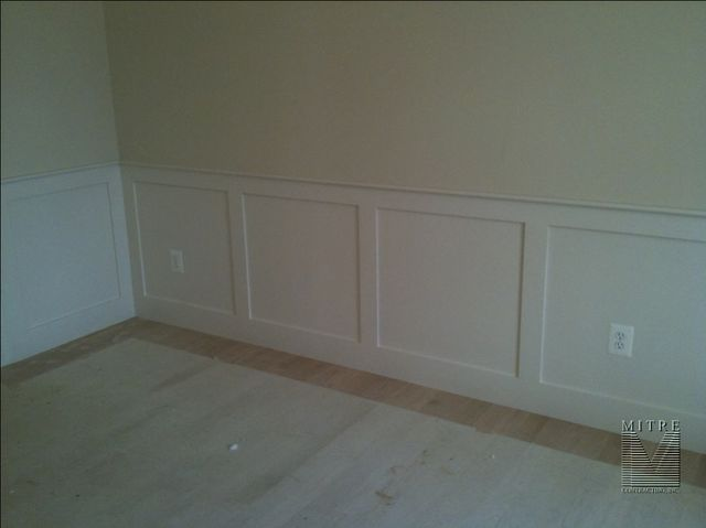 Flat Wall Panel Wainscot