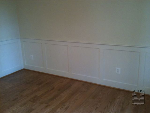 Awesome Chair Rail 1x4 Part - 3: Flat Wall Panel Wainscot