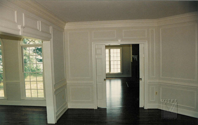 Shadow Box Wainscoting