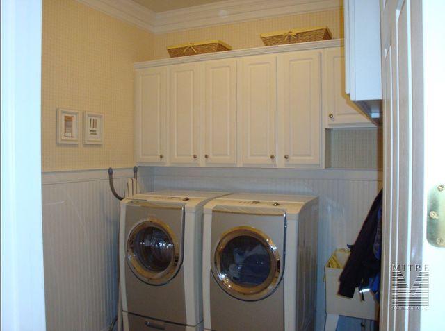 Laundry Room Beadboard Wainscoting