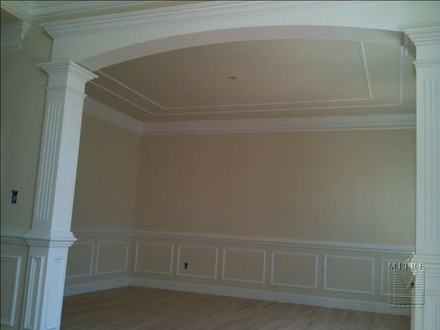 Wainscoting Amp Chair Rail Dining Room Mouldings