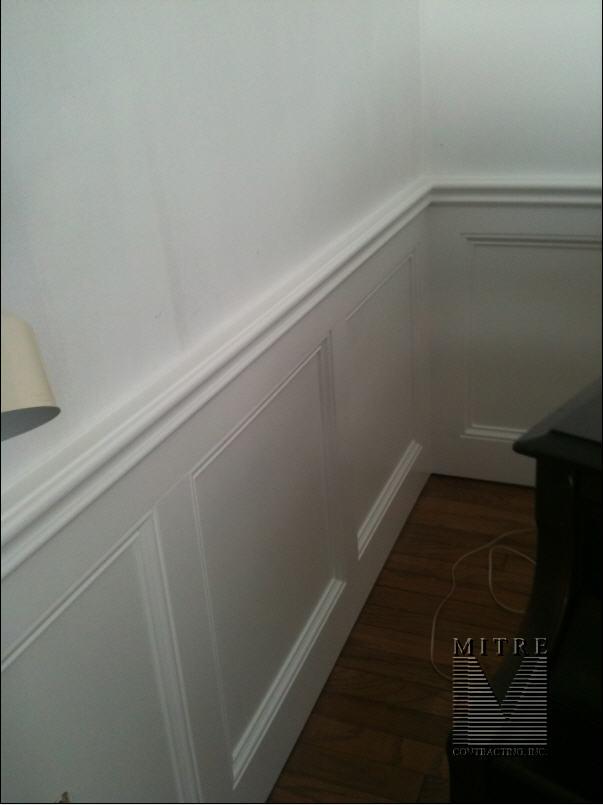 Flat Wall Panel Wainscot