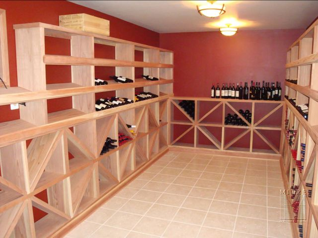 Wine Room Remodel