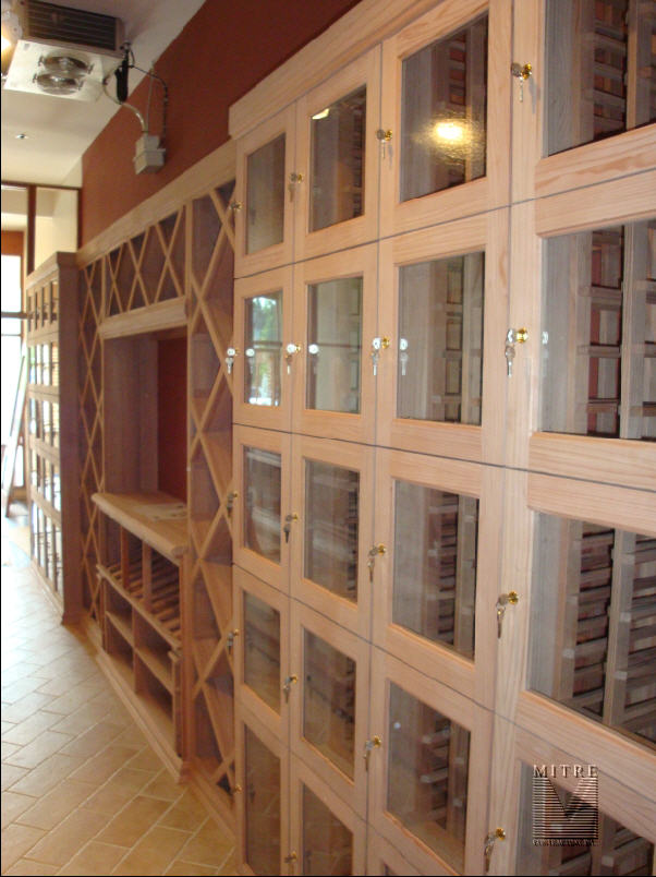 Wine Racking & Lockers
